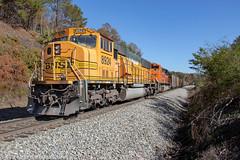 NS 732 (Steve Hardin) Tags: norfolksouthern bnsf railway railroad railfan train coal locomotive engine emd sd70mac braswell rockmart georgia h2
