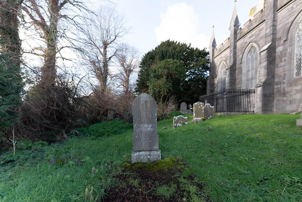 ST COLUMBA'S CHURCH AND GROUNDS IN SWORDS COUNTY DUBLIN [CHURCH ROAD]-148807