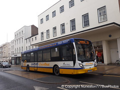 YY15NJK Johnsons in Leamington Spa (Nuneaton777 Bus Photos) Tags: johnsons adl enviro 200 yy15njk leamingtonspa