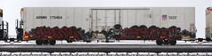 Seldom/Seimr (quiet-silence) Tags: graffiti graff freight fr8 train railroad railcar art seldom seimr armn reefer unionpacific armn170464