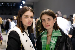 Molly & Reese Blutstein at Priscavera (diandra patrick) Tags: molly blutstein reese priscavera fashion show nyfw accidentalinfluencer double3xposure week new york nyc ny city digital portrait portraiture sonya6000 sony a6000 manhattan blogger liveshow life natural night spring studios tribeca soho people random snapshot street style streetstyle venue sigma lens instagram stylist icon influencer
