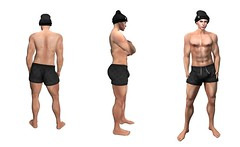 Silverstream Co. Muscular Male Shape (thanatossilverstream) Tags: secondlife sl altamura realistic shape shapes mesh