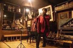 山小屋で過ごす正月 (yoko.wannwannmaru) Tags: dsc0003 黒百合ヒュッテ 正月 コンサート