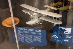 Balbo's Goodwill Flights Display (Serendigity) Tags: arizona pimaairspacemuseum tucson usa unitedstates aircraft aviation biplane hangar indoors model museum seaplane unitedstatesofamerica
