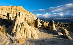**** (valentina425) Tags: badlands wilderness nature landscape new mexico rocks hoodoo rainbow sunset sky rock