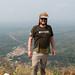 Mount Afadjato peak butterflies attracted by climber's sweat...