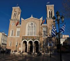 Metropolitan Church of Athens Evangelismos Theotokou (vic_206) Tags: atenas athens metropolitanchurchofathensevangelismostheotokou