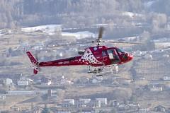 Eurocopter AS 350 B3 Air Zermatt HB-ZPB SIR Sion Airport Switzerland 2019 (roli_b) Tags: eurocopter as350 as 350 b3 air zermatt airzermatt hbzpb sir sion sitten airport switzerland schweiz suisse suiza svizzera valais wallis heli helicopter vtol helikopter hubschrauber aviation aircraft 2019