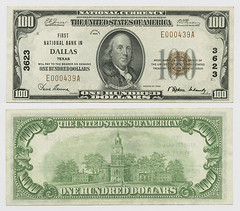 rowe_barr_dallascounty_dallas_1003_opt (SMU Libraries Digital Collections) Tags: texas money national us united states currency paper banks notes note banknote banknotes chartered bank banking dallas dallascounty