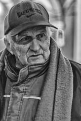 nike athletics (Claudia Merighi) Tags: portraitfromthestreet portrait ritratto streetphotography street streetphoto streetphotographers streetportrait fotografiadistrada man people oldman viso faccia face blackandwhitephotos blackandwhiteonly blackandwhitephotography noiretblanc bnbwbwbiancoenero ricoh claudiamerighi