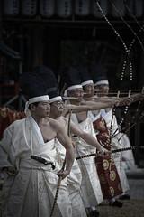 武射神事 - むしゃしんじ (小川 Ogawasan) Tags: japan japon archery kyudo kyoto kami shinto