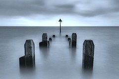 Aberystwyth Jetty (alexcalver) Tags: formatthitech longexposure canon80d winter uk december seaside seascape jetty aberystwyth wales