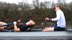 IMG_0984 (NUBCBlueStar) Tags: rowing remo rudern river aviron february march star university sunrise boat blue nubc sculling newcastle london canottaggio tyne hudson thames sweep eight pair