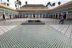 courtyard - Bahia Palace - Marrakech, Morocco - Nov 2018 (Dis da fi we) Tags: courtyard bahia palace marrakech morocco