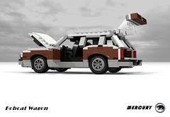 Mercury Bobcat Wagon (lego911) Tags: ford motor company pinto mercury bobcar wagon woody wood compact 1970s 1977 usa american auto car moc model miniland lego lego911 ldd render cad povray