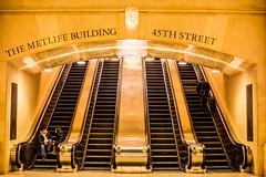Lies That Life is Black and White (Thomas Hawk) Tags: america grandcentral grandcentralstation grandcentralterminal manhattan nyc newyork newyorkcity usa unitedstates unitedstatesofamerica subway fav10 fav25