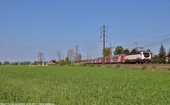 E402B 171 (Mattia Deambrogio - Trains & Cars Photos) Tags: e402 e402b 171 frecciabianca thellò eurocity pontecurone ec