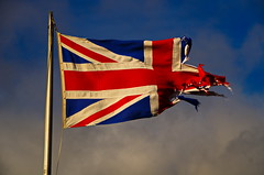 in tatters ? (shanahands2) Tags: unionflag