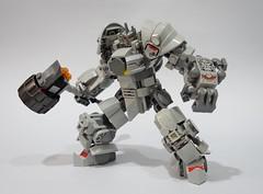 Reinhardt01 (chubbybots) Tags: lego overwatch reinhardt mod 75973
