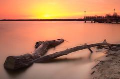 Zalew zegrzyński (slaant21) Tags: wschódsłońca landscape sunrise czerwony yellow żółty lake lat krajobraz jezioro red nieporęt mazowieckie poland pl