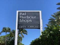 Bal Harbour Shops (Phillip Pessar) Tags: bal harbour florida building architecture shops sign shopping mall center luxury
