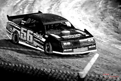 Playing in the Dirt (1300 Photography) Tags: nikon z6 500mm blackwhite blackandwhite affinity affinityphoto racing racecar missouri ozarks dirttrack motorsport