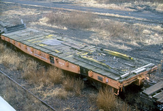 CB&Q MWF 207276 (Chuck Zeiler 48Q) Tags: cbq class mwf 207276 burlington railroad flatcar flat car freight galesburg train chuckzeiler chz