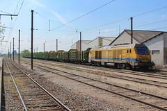 75101 TSO à Belleville-sur-Saône (AziroxY) Tags: trains trainspotting train photo photographie plm photosncf bb75000 bb75101
