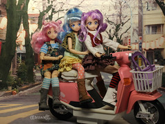 Scooting About (BblinkK) Tags: bandai precure prettycure anime doll