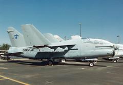 TA-7C 156738 N165TB Thunderbird Aviation (spbullimore) Tags: thunderbird aviation deer valley airport phoenix arizona az usa 1994 vought corsiar a7 ta7 ta7c 156738 n165tb usn us navy united states