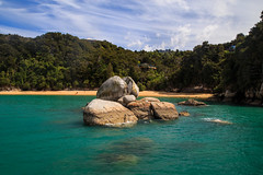 Split Apple Rock, Abel Tasman National Park (ncs1984) Tags: abel tasman national park new zealand aotearoa splitapplerock abletasman nationalpark canon travel canon6d turquoise sea water blue color colour ngc