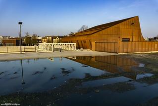 The new lock of river Het Schijn (Deurne-Noord)