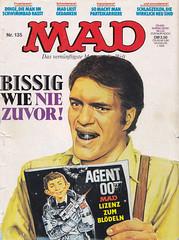 MAD #135 (micky the pixel) Tags: comics comic heft magazin satire humor bsv williamsverlag mad jamesbond007 moonraker richardkiel derbeiser jaws alfredeneumann rolftrautmann