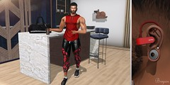 Go Training (Bryan Trend) Tags: head catwa daniel body belleza jake hair stealthic thirst gacha set hoodie tanktop leggings shorts sneakers signature gianni geralt the epiphany event decor merak kitchen accesory male men gay blogger new post blog model second life sl secondlife