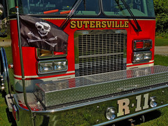 Rescue 11 (George Neat) Tags: sutersville hme fire department apparatus heavy rescue jolly rodger pirate flag vehicle westmoreland county pa pennsylvania laurelhighlands transportation emergency public safety georgeneat patriotportraits neatroadtrips