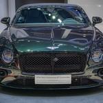Bentley Continental GT Convertible at the 40th Bangkok International Motor Show at IMPACT Challenger hall in Muang Thong Thani, Nonthaburi thumbnail