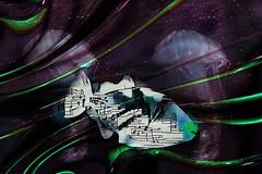 Vals de las olas (seguicollar) Tags: art arte artedigital texturas virginiaseguí imagencreativa photomanipulation ddg pez mar notasmusicales música vals olas medusas paisajemarino mmm