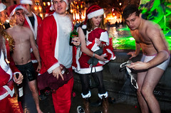 "121215 Santacon 159 (hoffman) Tags: christmas crowd event fatherchristmas festival flashmob fun gathering group happening london many santaclaus santacon spontaneous xmas horizontal trafalgarsquare party entertainment leisure costume fancydress fountain bathing cold 181112patchingsetforimagerights uk davidhoffman davidhoffmanphotolibrary socialissues reportage stockphotos""stock photostock photography"" stockphotographs""documentarywwwhoffmanphotoscom copyright"