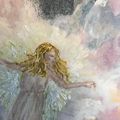 IMG_1039 - Copy (Cheryl Gaer Barlow) Tags: spiritual angels heaven painting