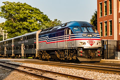 Here Comes the Train (Back Road Photography (Kevin W. Jerrell)) Tags: trains manassas princewilliamcounty virginia nikond7200 sigmalens backroadphotography railroads