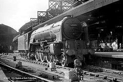 c.1964 - Newcastle (Central). (53A Models) Tags: britishrailways peppercorn lner a1 462 60155 borderer steam passenger newcastleupontyne train railway locomotive railroad