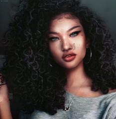 Jazmine Sparrowhawk (A. Doutzen) Tags: photoshop photograpy art second s f fashion flickr girl secondlife virtual sexy hair face jacket