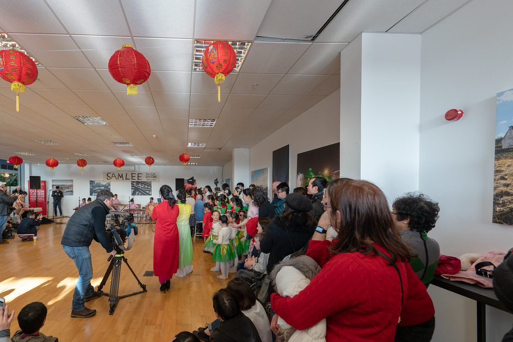 YEAR OF THE PIG - LUNAR NEW YEAR CELEBRATION AT THE CHQ IN DUBLIN [OFTEN REFERRED TO AS CHINESE NEW YEAR]-148905
