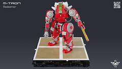 M-Tron Redeemer (CK-MCMLXXXI) Tags: lego moc mtron classic space redeemer mech robot warmachine