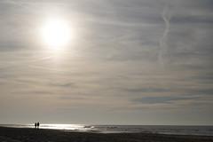 Daytrip Texel (Kitty Terwolbeck) Tags: texel outdoors nature outdoor sea noordzee beach strand sand strandtent dekoog sky sundown sunset sillouet silhouette contrast sun hikers wandelaars zonsondergang zon zee romance tegenlicht backlight