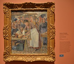 The Pork Butcher by Camille Pissarro, Impressionism in the Age of Industry, Art Gallery of Ontario, Toronto, ON (Snuffy) Tags: theporkbutcher camillepissarro impressionismintheageofindustry artgalleryofontario ago toronto ontario canada