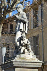 """""""Arts et Sciences"""", de François Truphème (RarOiseau) Tags: aixenprovence paca bouchesdurhône sculpture ville"""