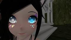 Eye see you (Iuved) Tags: second life secondlife kemonomimi kemono m3 m3head utilizator eye shadow face charms cute girl selfie bangs lashes heterochromia anime hentai no glasses