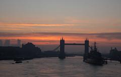 Beauty of sunrise (ibn_sina001) Tags: towerbridge sunrise sunlight hmsbelfast riverthames
