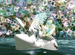today by Cat... (AnaLee Balut) Tags: analeebalut alb albdreamfashion costume carnival mardigras karneval venecia paradise bird fantasy sl secondlife secondllife gift free freebie mesh maitreya slink belleza tonic fitmesh mask wings party celebrations kostüm köln rio venedig